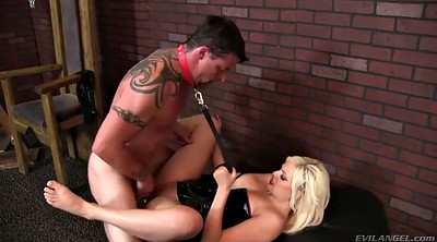 Mistress, Tongue, Mistress slave, Jenna ivory, Used, Blond slave