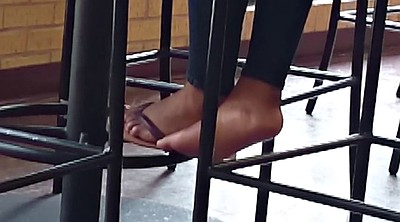 Candid, Black foot