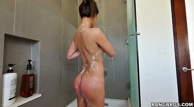 Teen hairy, Solo shower