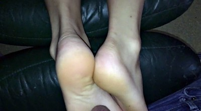 Foot, Footjob, Money, For money