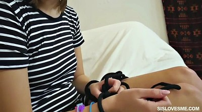 Tied up, Bed, Lingerie, May, Riley