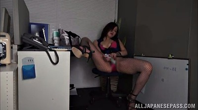 Asian model, Office masturbation, Asian pantyhose, Asian heel, Panty solo