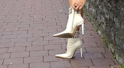 Leather, Wear, Boot, Blond