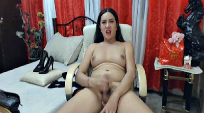 Shemale cum, Stroking, Strokes