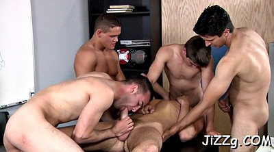 Male, Anal orgy