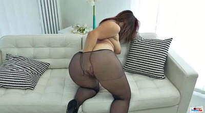 Mature pantyhose, Mature masturbating