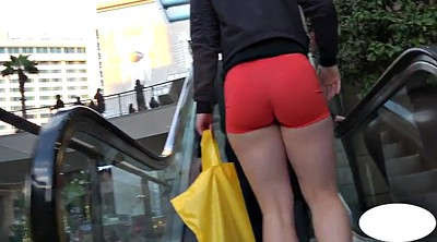 Candid, Teen candid short shorts
