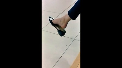 Candid, Candid feet, Mall