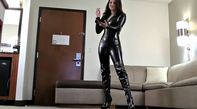 Boots, Hannah, Catsuit, Boots fetish