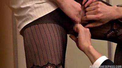 Pantyhose sex, Pantyhose handjob, Asian pantyhose
