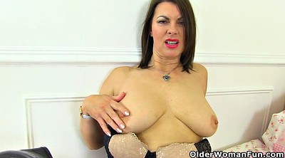 Nylons, Mature pussy