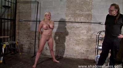 Needle, Needles, Interracial slave, German blond, German bdsm