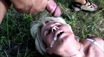 Granny, Granny anal, Outdoors