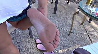 Foot fetish, Mature feet, Mature foot