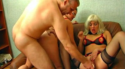 Russian mature, Old mature, Russian old, Young creampie, Threesome creampie, Old creampie