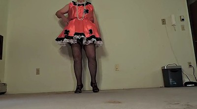 Panties, Maids, Black maid, Sissy gay, Dressing