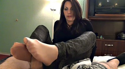 Nylon footjob, Nylon feet, Nylon foot, Footjob cumshot