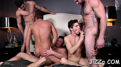 Muscular, Gay orgy, Gays, Anal orgy