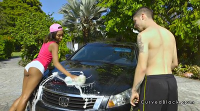 Interracial, Car wash