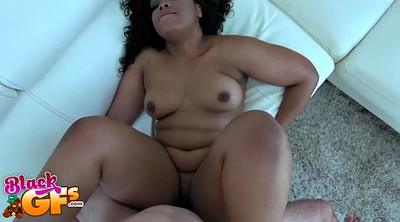 Ebony interracial, Curly