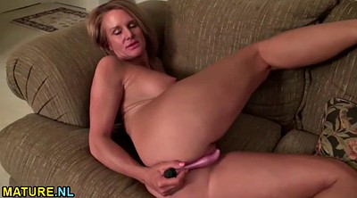 Mature masturbating, Undress