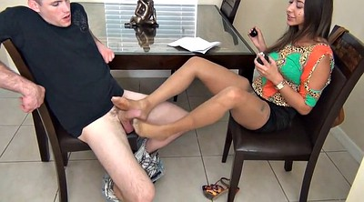 Nylon footjob, Foot nylon, Nylons, Footjob nylon