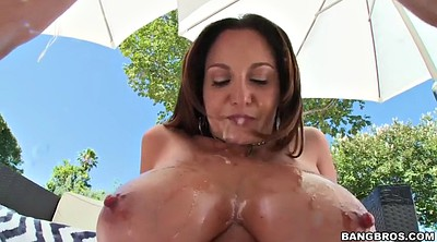 Ava addams, Licking ass