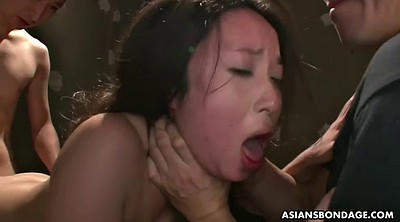 Japanese bdsm, Japanese throat, Japanese threesome, Asian bdsm