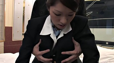 Stewardess, Pantyhose sex, Attack