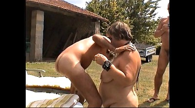 Whipping, Whip, Whore, Whipped, Post, Mature bondage