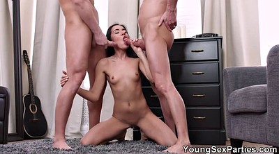 Facial, Double anal, Spitting, Spit