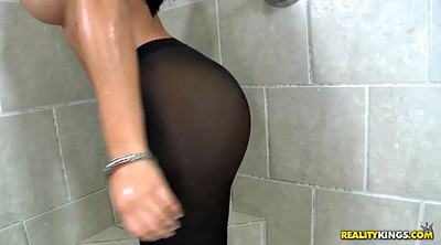 Pantyhose, Chubby pantyhose, Chubby solo, Drop