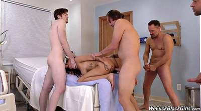 Gay, Black girl, Four, Interracial creampie, Gay men, Gay and girl