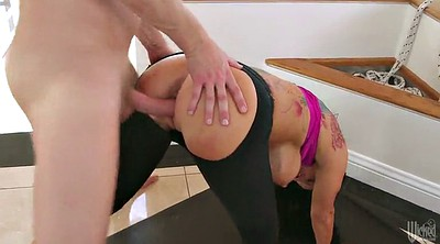 Rough, Blowjob, Romi rain