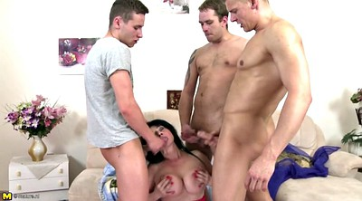 Mother, Young son, Mother son, Old mother, Mature gangbang, Gangbang granny