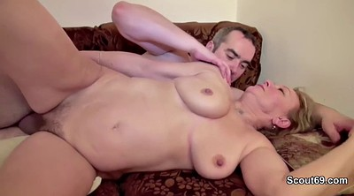 Daddy, First, Bbw granny, Bbw mom, German porn, Bbw orgasm
