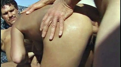 Mature double, Anal fingering
