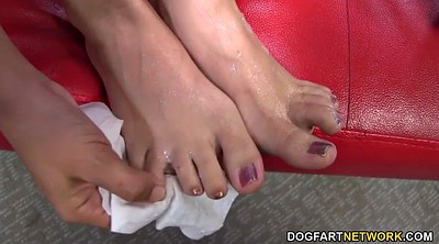Foot, Interracial