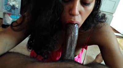 Indian girl, Oral creampie