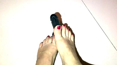 Dildo, Foot fetish