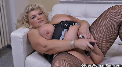 Solo mature, Solo milf blonde, Mature masturbating
