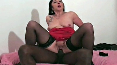 Ebony anal, French mature