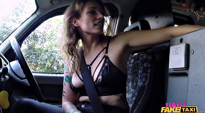 Car, Big boobs, Bitch, Doggy