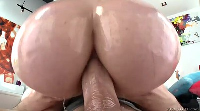Mandy muse, Mandy muse anal, Muse, Huge cumshot, Big oiled ass