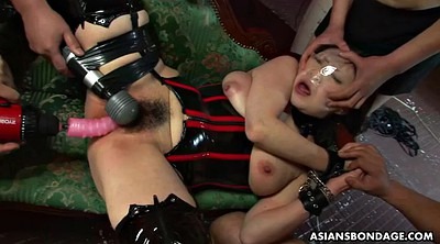 Latex, Japanese bdsm, Japanese busty, Japanese orgasm
