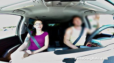 Teen car, Interview, Clothed