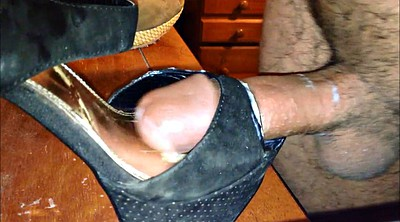 Heels, Cum in shoes