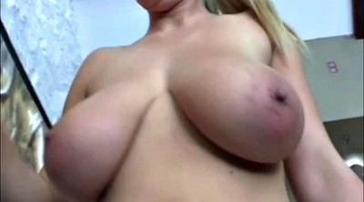 Flashing, Big saggy tits