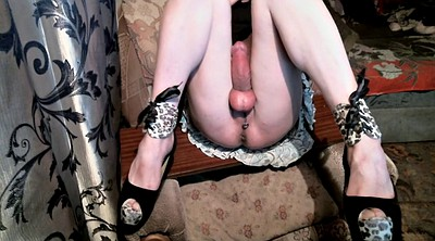 High heels, Big clit
