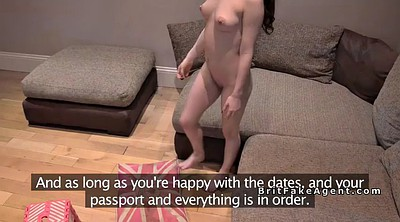 Anal casting, Agent, Small tits, Casting anal